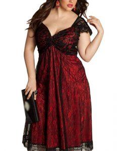 946c15cc1 ❤ Descubre aquí los vestidos de fiesta para gorditas más lindos