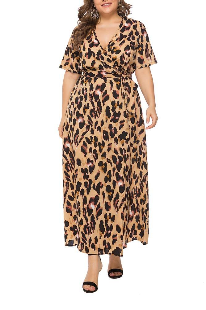 Vestido casual animal print gorditas