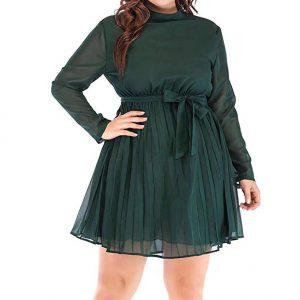 Vestido noche gorditas verde