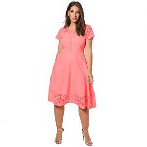 Vestido gorditas oficina rosa