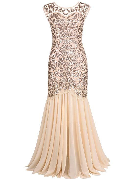 vestido de gala rosa