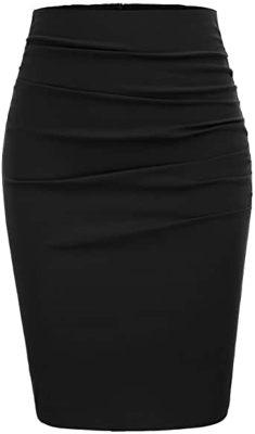 falda recta para gorditas