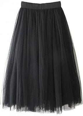 faldas midi para gorditas