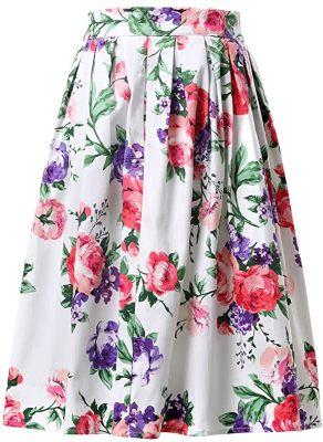 faldas largas de moda para gorditas